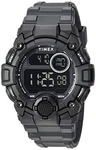 タイメックス 腕時計 メンズ 【送料無料】Timex Men's TW5M27400 DGTL A-Game 50mm Black Resin Strap Watchタイメックス 腕時計 メンズ