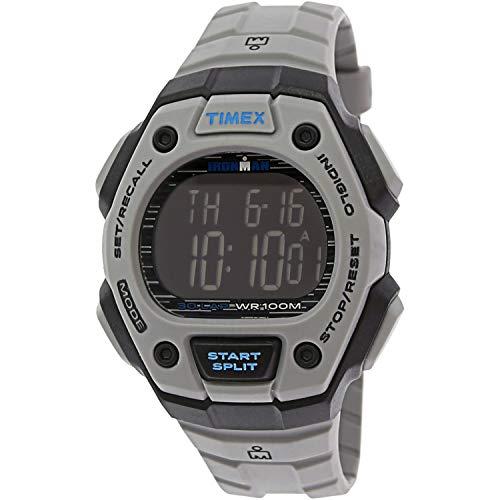 タイメックス 腕時計 メンズ 【送料無料】Timex Men's Ironman Classic TW5M24300 Grey Rubber Quartz Sport Watchタイメックス 腕時計 メンズ