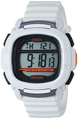 腕時計 タイメックス メンズ 【送料無料】Timex Men's TW5M26400 Command 47mm White Silicone Strap Watch腕時計 タイメックス メンズ