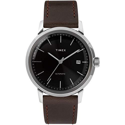 タイメックス 腕時計 メンズ 【送料無料】Timex Marlin Automatic Black/Silver One Sizeタイメックス 腕時計 メンズ