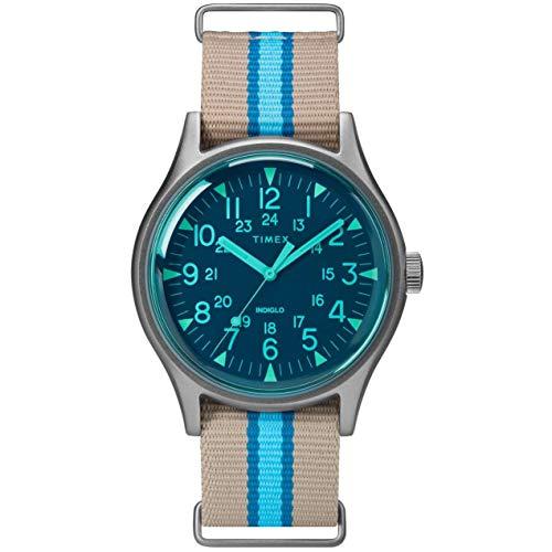 タイメックス 腕時計 メンズ Timex MK1 Aluminum California Blue Dial Canvas Strap Men's Watch TW2T25300タイメックス 腕時計 メンズ