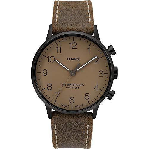 タイメックス 腕時計 メンズ 【送料無料】Timex The Waterbury Classic Quartz Movement Brown Dial Men's Watch TW2T27800タイメックス 腕時計 メンズ