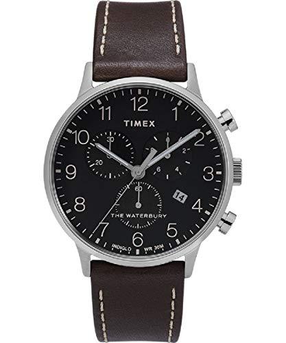 タイメックス 腕時計 メンズ 【送料無料】Timex The Waterbury Classic Quartz Movement Black Dial Men's Watch TW2T28200タイメックス 腕時計 メンズ