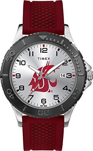 タイメックス 腕時計 メンズ 【送料無料】Timex Men's Washington State University Gamer Watch Silicone Watchタイメックス 腕時計 メンズ