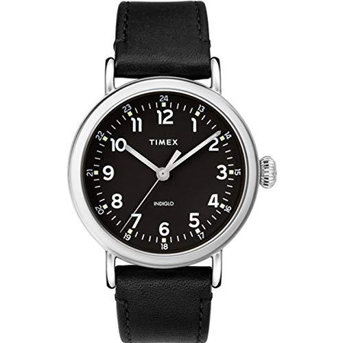 タイメックス 腕時計 メンズ 【送料無料】Timex Standard Quartz Movement Black Dial Men's Watch TW2T20200タイメックス 腕時計 メンズ