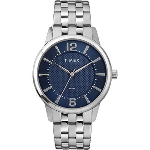 タイメックス 腕時計 メンズ 【送料無料】Timex Men's Dress Analog 40mm Stainless Steel Bracelet Watchタイメックス 腕時計 メンズ