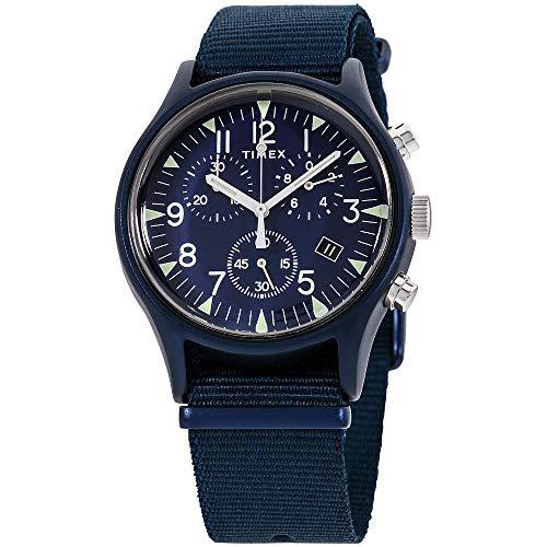 タイメックス 腕時計 メンズ 【送料無料】Timex MK1 Quartz Movement Blue Dial Men's Watch TW2R67600タイメックス 腕時計 メンズ