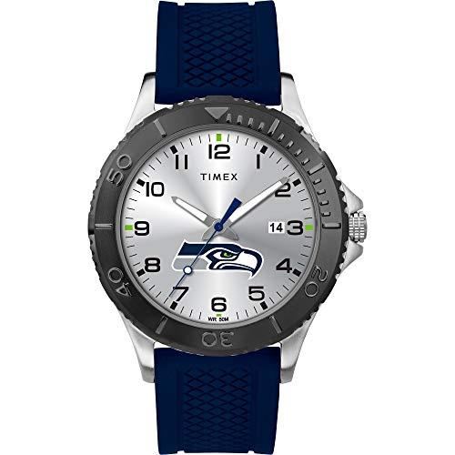 腕時計 タイメックス メンズ 【送料無料】Timex Men's TWZFSEAME NFL Gamer Seattle Seahawks Watch腕時計 タイメックス メンズ