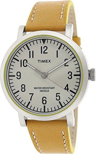 タイメックス 腕時計 メンズ 【送料無料】Timex Men's Originals T2P505 Brown Leather Analog Quartz Fashion Watchタイメックス 腕時計 メンズ