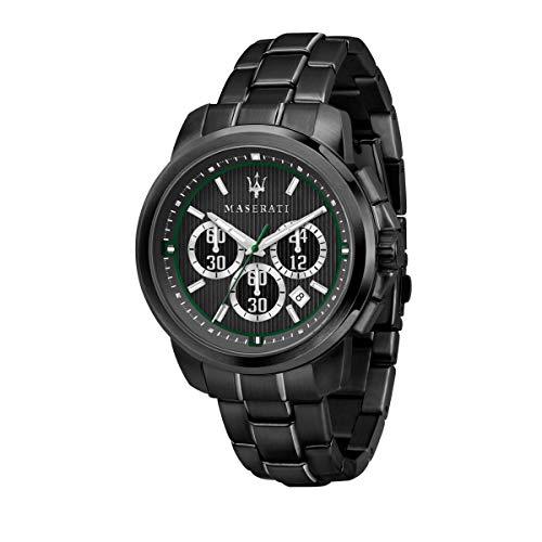 マセラティ イタリア 腕時計 メンズ 【送料無料】MASERATI Royale 45 mm Chronograph Men's Watchマセラティ イタリア 腕時計 メンズ
