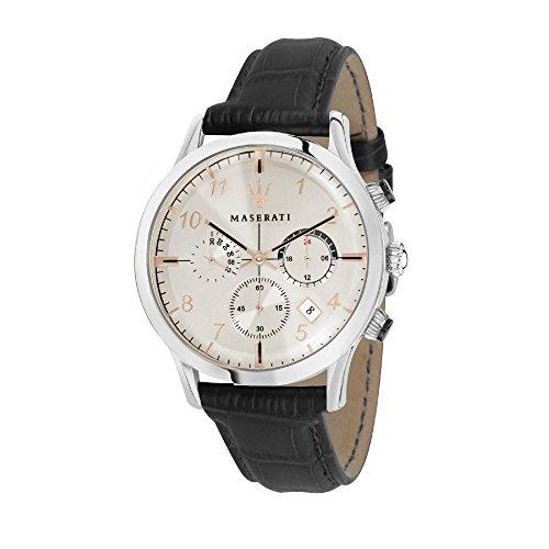 マセラティ イタリア 腕時計 メンズ 【送料無料】MASERATI RICORDO 42 mm CHRONOGRAPH MEN'S WATCHマセラティ イタリア 腕時計 メンズ