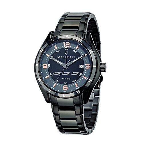 マセラティ イタリア 腕時計 メンズ 【送料無料】Maserati New Gent Mens Analog Quartz Watch with Stainless Steel Bracelet R8853124001マセラティ イタリア 腕時計 メンズ