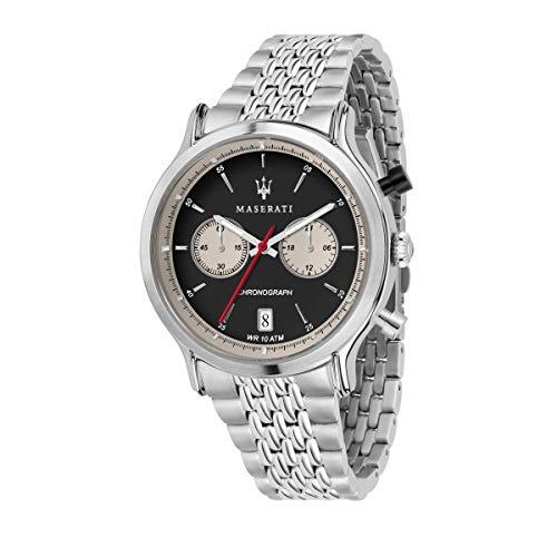 腕時計 マセラティ イタリア メンズ 【送料無料】MASERATI Legend 42 mm Chronograph Men's Watch腕時計 マセラティ イタリア メンズ