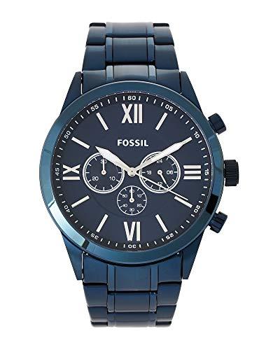 フォッシル 腕時計 メンズ 【送料無料】Fossil Men's Blue Flynn Chronograph Watch, Ocean Blue Stainless Steel Band, BQ2191フォッシル 腕時計 メンズ