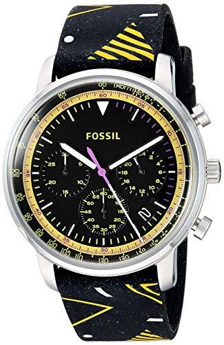 フォッシル 腕時計 メンズ 【送料無料】Fossil Goodwin Chrono - FS5521 Black One Sizeフォッシル 腕時計 メンズ