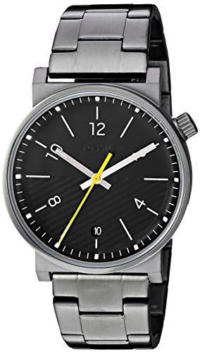 フォッシル 腕時計 メンズ Fossil Men's Barstow Quartz Watch with Stainless-Steel-Plated Strap, Grey, 22 (Model: FS5508)フォッシル 腕時計 メンズ