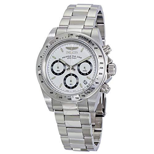 腕時計 インヴィクタ インビクタ スピードウェイ メンズ 【送料無料】Invicta Speedway Chronograph Stainless Steel Watch, Model - 9211腕時計 インヴィクタ インビクタ スピードウェイ メンズ