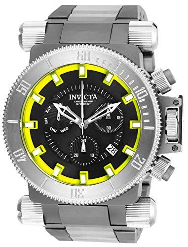 インヴィクタ インビクタ フォース 腕時計 メンズ 【送料無料】Invicta Men's 26639 Coalition Forces Quartz Chronograph Black, Yellow Dial Watchインヴィクタ インビクタ フォース 腕時計 メンズ