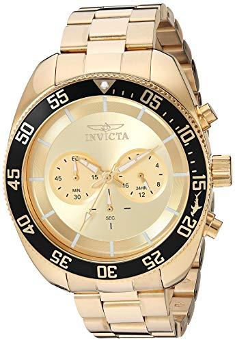 腕時計 インヴィクタ インビクタ プロダイバー メンズ 【送料無料】Invicta Men's Pro Diver Quartz Watch with Stainless Steel Strap, Gold, 24 (Model: 30059)腕時計 インヴィクタ インビクタ プロダイバー メンズ