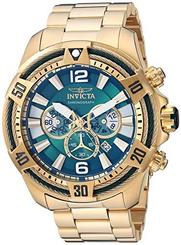 インヴィクタ インビクタ ボルト 腕時計 メンズ 【送料無料】Invicta Men's Bolt Quartz Watch with Stainless Steel Strap, Gold, 26 (Model: 27267)インヴィクタ インビクタ ボルト 腕時計 メンズ