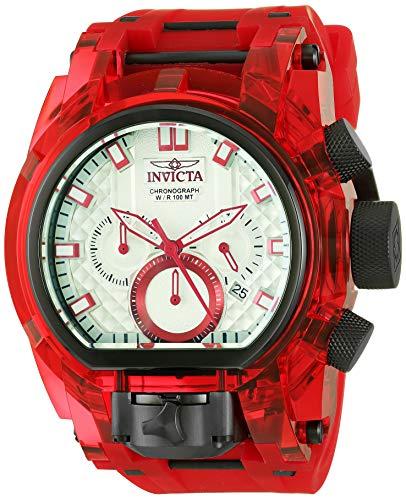 インヴィクタ インビクタ ボルト 腕時計 メンズ 【送料無料】Invicta Men's Bolt Stainless Steel Quartz Watch with Silicone Strap, Red, 35.5 (Model: 29996)インヴィクタ インビクタ ボルト 腕時計 メンズ