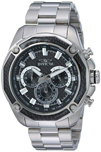 インヴィクタ インビクタ 腕時計 メンズ 【送料無料】Invicta Men's Aviator Quartz Watch with Stainless-Steel Strap, Silver, 24 (Model: 22803)インヴィクタ インビクタ 腕時計 メンズ