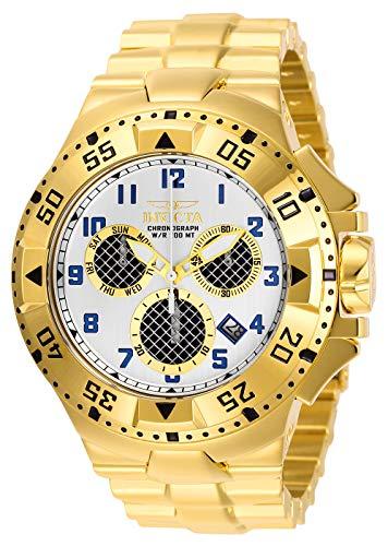 インヴィクタ インビクタ 腕時計 メンズ 【送料無料】Invicta Men's Excursion Quartz Watch with Stainless Steel Strap, Gold, 30 (Model: 29722)インヴィクタ インビクタ 腕時計 メンズ