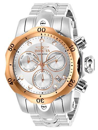 インヴィクタ インビクタ 腕時計 メンズ 【送料無料】Invicta Men's Venom Quartz Watch with Stainless Steel Strap, Silver, 22 (Model: 29627)インヴィクタ インビクタ 腕時計 メンズ