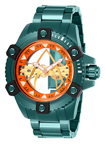 インヴィクタ インビクタ 腕時計 メンズ Invicta Men's DC Comics Mechanical Watch with Stainless Steel Strap, Green, 24 (Model: 26845)インヴィクタ インビクタ 腕時計 メンズ