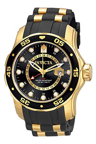 インヴィクタ インビクタ 腕時計 メンズ Invicta Men's 6991 Pro Diver Quartz GMT Black Dial Watchインヴィクタ インビクタ 腕時計 メンズ