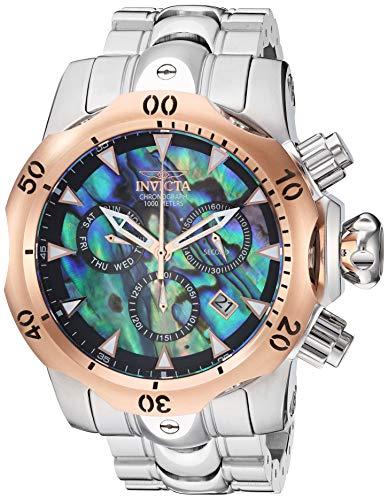 インヴィクタ インビクタ 腕時計 メンズ 【送料無料】Invicta Men's Venom Quartz Watch with Stainless Steel Strap, Silver, 26 (Model: 29647)インヴィクタ インビクタ 腕時計 メンズ