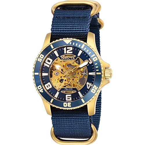 インヴィクタ インビクタ 腕時計 メンズ 【送料無料】Invicta Objet D Art Automatic Blue Dial Men's Watch 27591インヴィクタ インビクタ 腕時計 メンズ