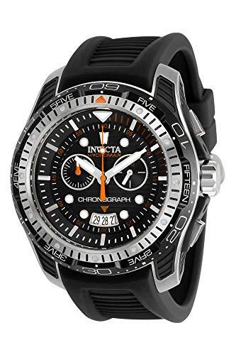 インヴィクタ インビクタ 腕時計 メンズ 【送料無料】Invicta Men's Hydromax Stainless Steel Quartz Watch with Silicone Strap, Black, 24 (Model: 29571)インヴィクタ インビクタ 腕時計 メンズ