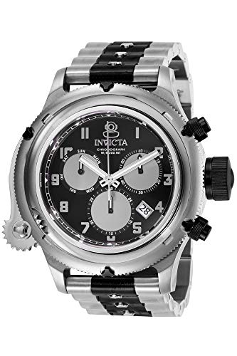 インヴィクタ インビクタ 腕時計 メンズ Invicta Men's Russian Diver Quartz Watch with Stainless Steel Strap, Silver, 26 (Model: 26462)インヴィクタ インビクタ 腕時計 メンズ
