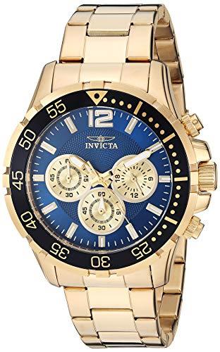 インヴィクタ インビクタ 腕時計 メンズ 【送料無料】Invicta Men's Specialty Quartz Watch with Stainless Steel Strap, Gold, 22 (Model: 25756)インヴィクタ インビクタ 腕時計 メンズ