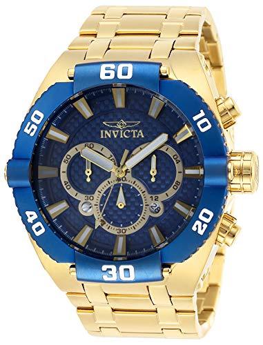 インヴィクタ インビクタ 腕時計 メンズ 【送料無料】Invicta Men's Coalition Forces Quartz Watch with Stainless Steel Strap, Gold, 30 (Model: 27258)インヴィクタ インビクタ 腕時計 メンズ
