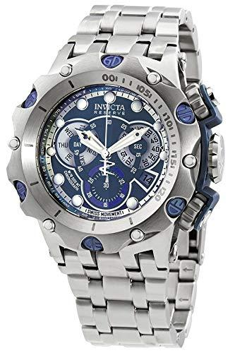インヴィクタ インビクタ 腕時計 メンズ Invicta Men's Reserve Quartz Watch with Stainless Steel Strap, Silver, 28.2 (Model: 27787)インヴィクタ インビクタ 腕時計 メンズ