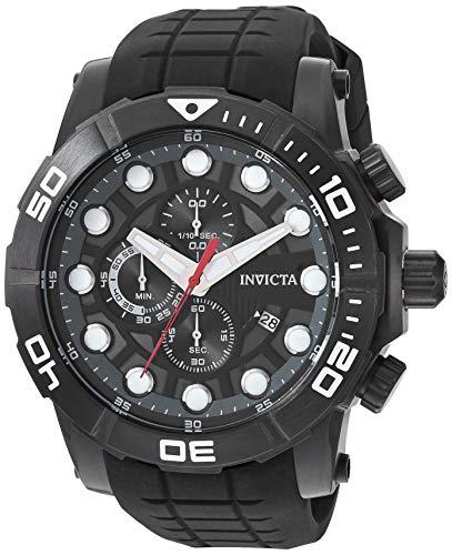 【ギフ_包装】 腕時計 インヴィクタ (Model: インビクタ メンズ【送料無料】Invicta Men's インヴィクタ Sea Hunter 28273)腕時計 Stainless Steel Quartz Watch with Silicone Strap, Black, 26 (Model: 28273)腕時計 インヴィクタ インビクタ メンズ, 作業服作業着通販のイエローユニ:94c227be --- experiencesar.com.ar