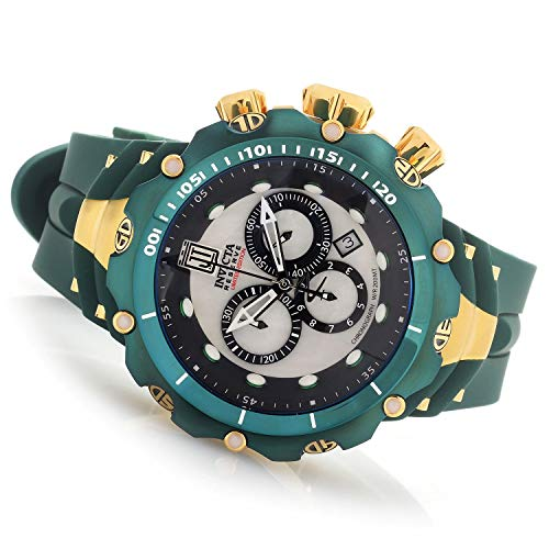 """インヴィクタ インビクタ 腕時計 メンズ 【送料無料】Invicta 29718 Reserve Men""""s 52mm Green JT Venom Gen II Limited Edition Swiss Quartz Chronograph Strap Watchインヴィクタ インビクタ 腕時計 メンズ"""