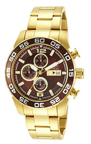 インヴィクタ インビクタ 腕時計 メンズ 【送料無料】Invicta Men's 13676 Specialty Analog Display Japanese Quartz Gold Watchインヴィクタ インビクタ 腕時計 メンズ