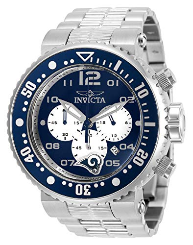 インヴィクタ インビクタ 腕時計 メンズ 【送料無料】INVICTA NFL Los Angeles Rams Grand Diverインヴィクタ インビクタ 腕時計 メンズ