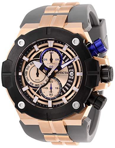 インヴィクタ インビクタ 腕時計 メンズ 【送料無料】Invicta Men's Sea Hunter Stainless Steel Quartz Watch with Silicone Strap, Grey, 31 (Model: 28052)インヴィクタ インビクタ 腕時計 メンズ