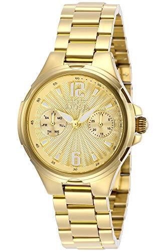 インヴィクタ インビクタ 腕時計 レディース 【送料無料】Invicta Women's Angel Quartz Watch with Stainless Steel Strap, Gold, 18 (Model: 29149)インヴィクタ インビクタ 腕時計 レディース