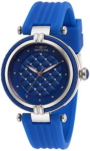 インヴィクタ インビクタ 腕時計 レディース Invicta Women's Bolt Stainless Steel Quartz Watch with Rubber Strap, Blue, 18 (Model: 28942)インヴィクタ インビクタ 腕時計 レディース