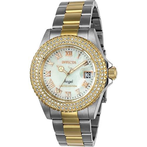 インヴィクタ インビクタ 腕時計 レディース 【送料無料】Invicta Women's Angel Cruiseline Limited Edition 40mm Stainless Steel Crystal Accented Swiss Quartz Watch (Two-Tone)インヴィクタ インビクタ 腕時計 レディース