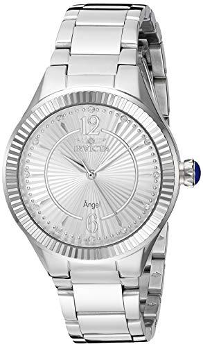 インヴィクタ インビクタ 腕時計 レディース 【送料無料】Invicta Women's Angel Quartz Watch with Stainless-Steel Strap, Silver, 15.8 (Model: 28328)インヴィクタ インビクタ 腕時計 レディース