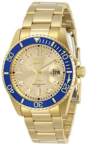 インヴィクタ インビクタ 腕時計 レディース 【送料無料】Invicta Women's Pro Diver Quartz Watch with Stainless Steel Strap, Gold, 20 (Model: 30485)インヴィクタ インビクタ 腕時計 レディース
