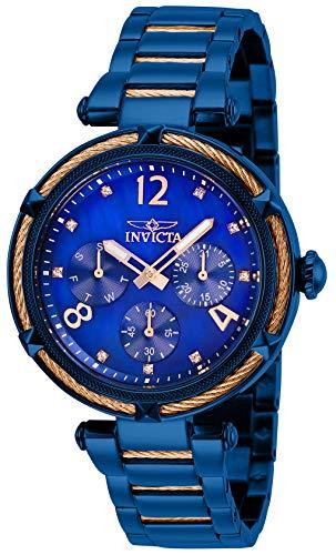 インヴィクタ インビクタ 腕時計 レディース 【送料無料】Invicta Women's Bolt Quartz Watch with Stainless Steel Strap, Blue, 18.5 (Model: 29137)インヴィクタ インビクタ 腕時計 レディース