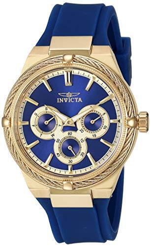 インヴィクタ インビクタ 腕時計 レディース 【送料無料】Invicta Women's Bolt Stainless Steel Quartz Watch with Polyurethane Strap, Blue, 18.7 (Model: 28908)インヴィクタ インビクタ 腕時計 レディース
