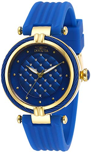 インヴィクタ インビクタ 腕時計 レディース 【送料無料】Invicta Women's Bolt Stainless Steel Quartz Polyurethane Strap, Blue, 18 Casual Watch (Model: 28945)インヴィクタ インビクタ 腕時計 レディース